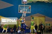 تیم بسکتبال پالایش نفت آبادان در وقتهای اضافه به برتری رسید