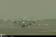 پروازهای ورودی فرودگاه مشهد متوقف شد