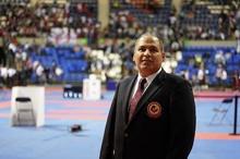 جواد سلیمی مدرس و ممتحن کلاس داوری کاراته آسیای میانه شد