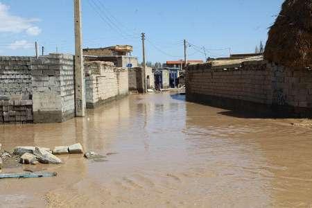 سیل به 24 منزل مسکونی در بورالان ماکو خسارت زد