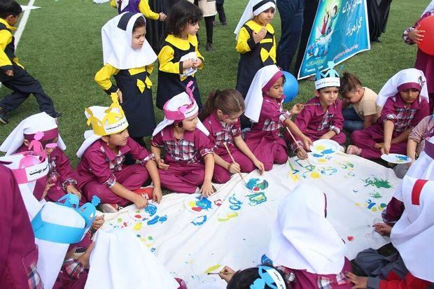 گرامیداشت روز جهانی کودک در آزادشهر برگزار شد