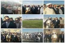 بازدید وزیر ورزش و جوانان از امکانات ورزشی شهرستان شادگان