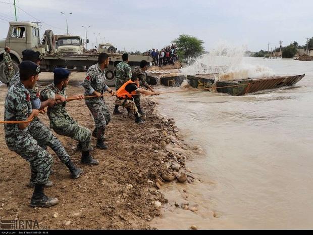 وزارت دفاع معین کمک رسانی به شهرستان کارون شد