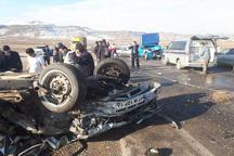 سانحه رانندگی درمحور خواجه- تبریز 7 کشته و مصدوم به جا گذاشت