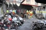 عملیات آواربرداری سرای ایکی قاپیلی بازار تبریز آغاز شد