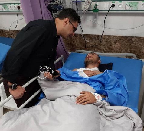 ملیپوش دوچرخه سواری راهی بیمارستان شد+ عکس