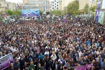 """ستاد انتخاباتی """"حسن روحانی"""" در استان مرکزی گشایش یافت"""