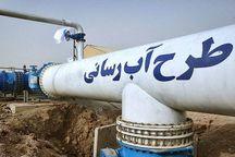 ۱۱حلقه چاه و خط انتقال آب به شهر برازجان با حضور معاون وزیر نیرو افتتاح شد
