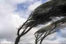 سرعت وزش باد در زنجان شدت می گیرد