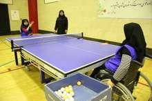 مازندران میزبان مسابقات لیگ برتر و دسته یک تنیس روی میز بانوان معلول کشورشد