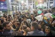 حاشیه های سخنرانی حجت الاسلام رییسی در کرمانشاه