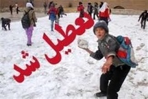 مدارس نوبت عصر استان زنجان تعطیل شد
