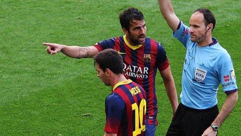 داور اسپانیایی بابت گرفتن قهرمانی از بارسلونا عذرخواهی کرد