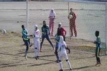 شکست تیم فوتبال بانوان خرم آباد مقابل سیرجان