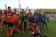 تیم برق جدید شیراز به رقابت های فوتبال دسته اول کشور صعود کرد