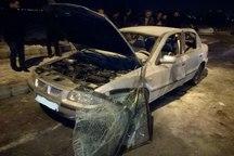 انفجار خودرو در تبریز