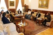 دیدار اعضای گروه تئاتر آینا با سفیر ایران در بوسنی و هرزگوین