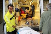 ازدحام مصدومان زلزله در بیمارستان تامیناجتماعی بجنورد