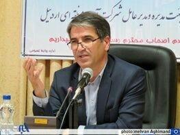 اجرای 10 هزار هکتار شبکه آبیاری در اردبیل