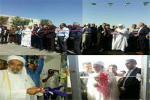 افتتاح هشت طرح عمرانی، خدماتی و کشاورزی در بوکان