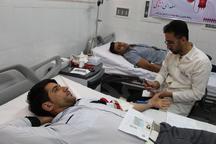 مردم مه ولات 80 کیسه خون به بیماران نیازمند اهدا کردند