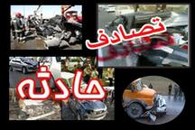 سوانح رانندگی در قزوین دو کشته و دو مصدوم بر جای گذاشت