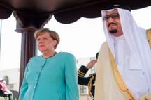 عکس/ مرکل بدون حجاب در عربستان