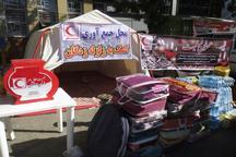 جمع آوری کمکهای مردم سنقرو کلیایی برای زلزله زدگان
