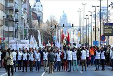 تظاهرات علیه نژادپرستی و رفتارهای تبعیضآمیز در بروکسل