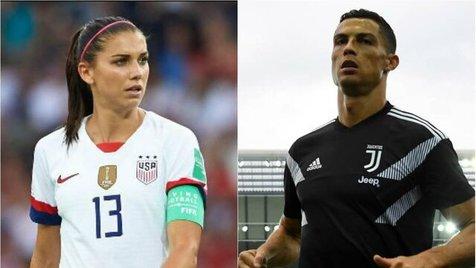 اظهارات تند کاپیتان تیم ملی زنان آمریکا علیه رونالدو