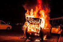 تصادف و انفجار خودرو در محور خرم آباد - دوره 2 کشته بر جا گذاشت