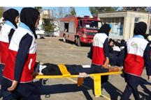 برگزاری مانورامداد و نجات با محوریت چهارشنبه آخرسال در گیلان