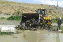 ۱۰۰ تخلف در حریم و بستر رودخانههای دیواندره شناساسی شد