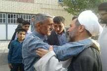 استقبال مردم سبزوار از جانباز حادثه تروریستی مجلس شورای اسلامی
