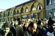 مراسم تشییع پیکر شهید مرتضوی در قائمشهر برگزار شد