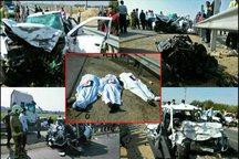 تصادف در جاده های هرمزگان هفت کشته بر جای گذاشت
