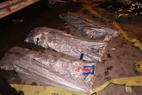کشته شدن ۳ جوان در حادثه رانندگی مشهد