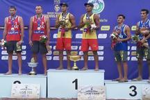 ورزشکاران گلستانی قهرمان تورجهانی والیبال ساحلی بابلسر شدند