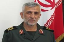 جانشین فرمانده سپاه همدان: شکست داعش در سوریه از برکات حضور بسیج در این کشور بود