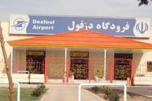 بارندگی مانع فرود هواپیمای مسافربری در دزفول شد