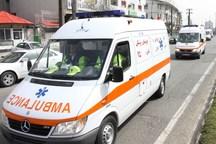 برخورد خودرو با پلی در رودسر، پنج نفر را راهی بیمارستان کرد