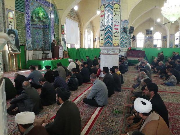 امام جمعه موقت بهاباد: بسیج، نظیر ندارد