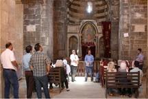 حضور دانشجویان رشته ایران شناسی دانشگاه دولتی ایروان در ارس