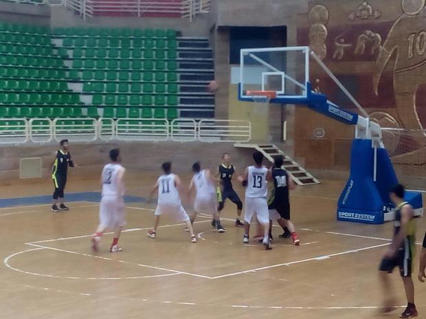 پیروزی خراسان رضوی برکردستان درمسابقات قهرمانی بسکتبال نوجوانان کشور