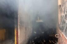 آتشسوزی در خانه باغی در روستای شلگرد