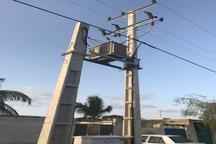 21دستگاه ترانس برق برای رفع افت ولتاژ در بخش تلنگ قصرقند نصب شد
