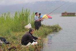 تصاویر  جشنواره بین المللی ماهیگیری در دریاچه زریوار مریوان