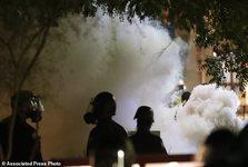 تظاهرات مقابل محل سخنرانی ترامپ به خشونت کشیده شد+ تصاویر