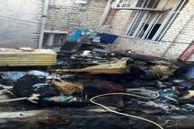 آتشسوزی منزل مسکونی در آبادان