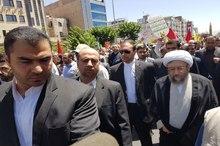 حضور  رییس قوه قضاییه در راهپیمایی روز قدس